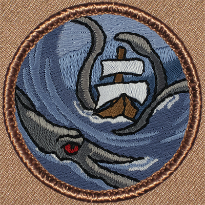 Kraken Sea Monster Patrol Patch 527