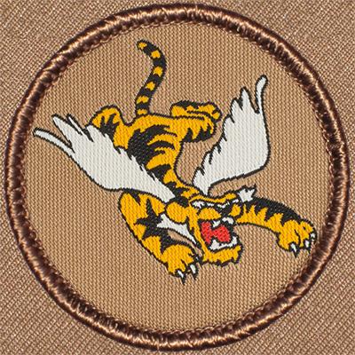 flying tiger patrol patch 627. Black Bedroom Furniture Sets. Home Design Ideas