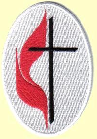 United Methodist Church 3 Quot Self Stick Applique