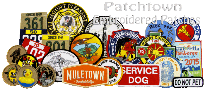 scout patrol patches