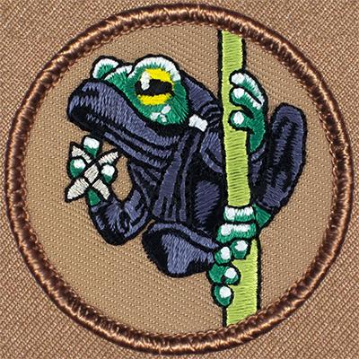 Ninja Frog Patrol Patch 328